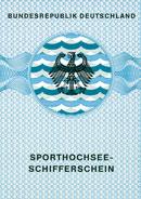 Führerscheinabbildung Sporhochseeschiffer-Schein (SHS)